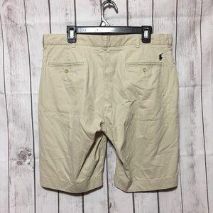 Polo Ralph Lauren Khaki Chino Shorts Mens 36